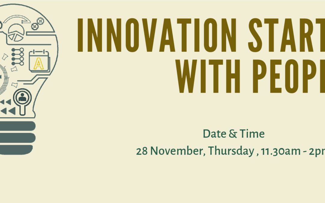 Innovation starts with People-28 Nov@11.30am