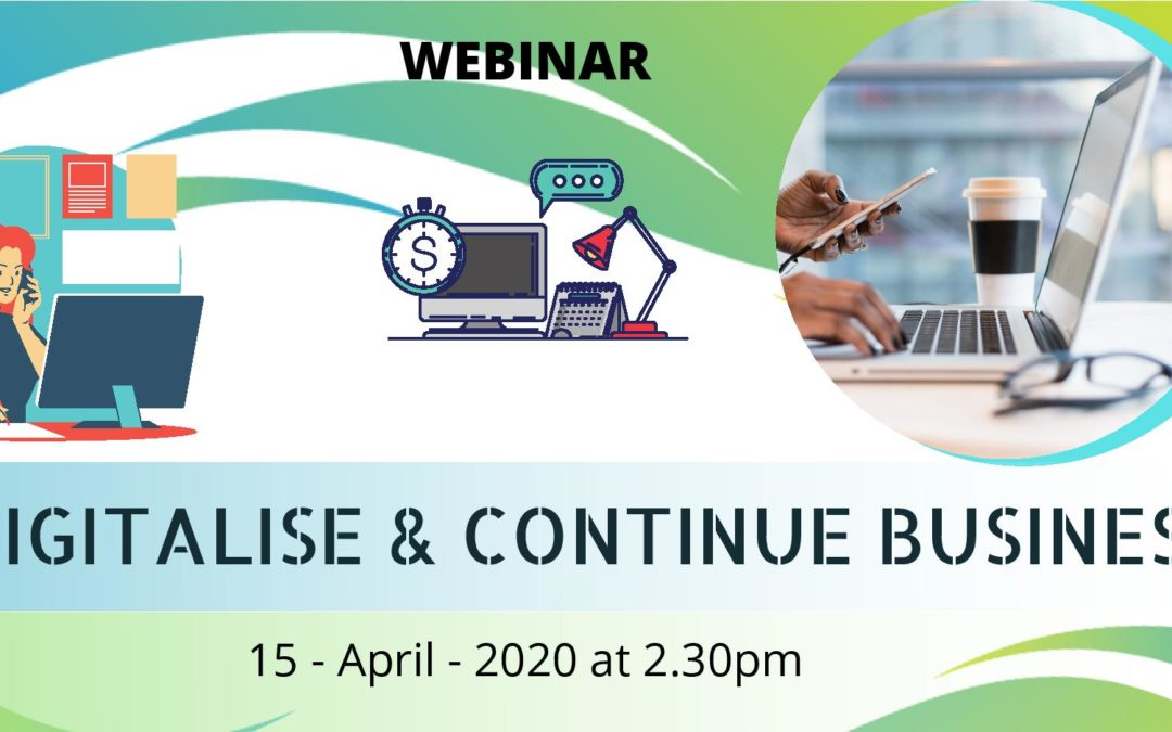 Webinar: Digitalise & Continue Business